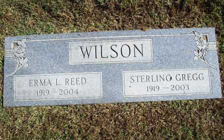 REED WILSON, ERMA L. - Benton County, Arkansas | ERMA L. REED WILSON - Arkansas Gravestone Photos