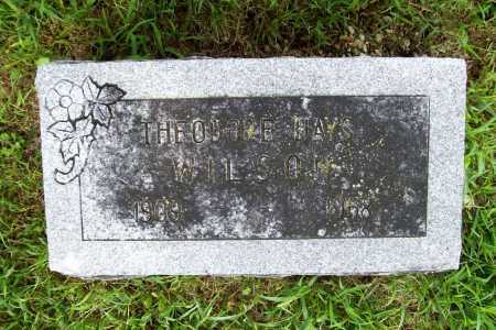 WILSON, THEODORE HAYS - Benton County, Arkansas | THEODORE HAYS WILSON - Arkansas Gravestone Photos