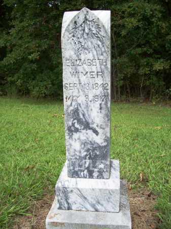 WIMER, ELIZABETH - Benton County, Arkansas | ELIZABETH WIMER - Arkansas Gravestone Photos