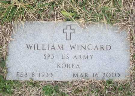 WINGARD (VETERAN KOR), WILLIAM - Benton County, Arkansas | WILLIAM WINGARD (VETERAN KOR) - Arkansas Gravestone Photos