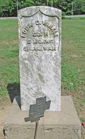 WINKLE (VETERAN SAW), LODA C. - Benton County, Arkansas | LODA C. WINKLE (VETERAN SAW) - Arkansas Gravestone Photos