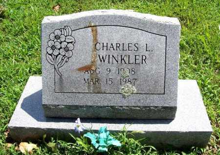 WINKLER, CHARLES L. - Benton County, Arkansas | CHARLES L. WINKLER - Arkansas Gravestone Photos