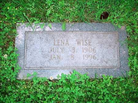 WISE, LENA - Benton County, Arkansas | LENA WISE - Arkansas Gravestone Photos