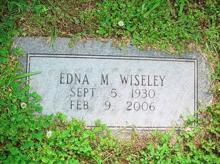 WISELEY, EDNA M. - Benton County, Arkansas | EDNA M. WISELEY - Arkansas Gravestone Photos