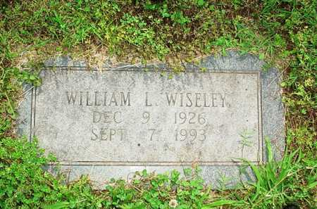 WISELEY, WILLIAM L. - Benton County, Arkansas | WILLIAM L. WISELEY - Arkansas Gravestone Photos