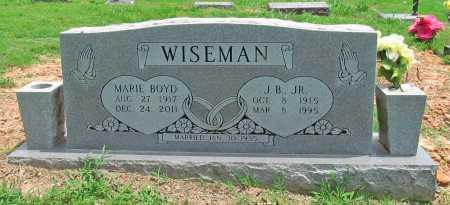 WISEMAN, J B JR - Benton County, Arkansas | J B JR WISEMAN - Arkansas Gravestone Photos