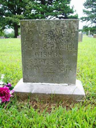 WISHON, GLEN M. - Benton County, Arkansas | GLEN M. WISHON - Arkansas Gravestone Photos