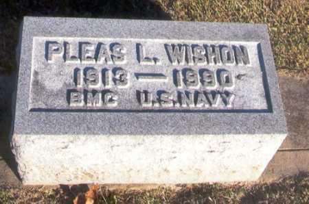 WISHON, PLEAS LEE - Benton County, Arkansas | PLEAS LEE WISHON - Arkansas Gravestone Photos