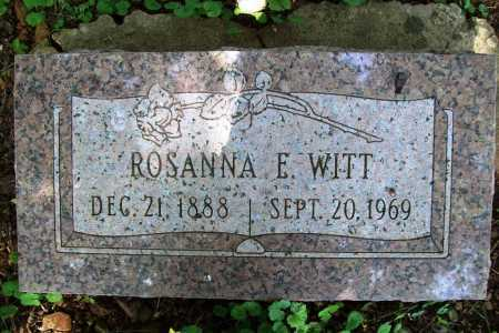 WITT, ROSANNA E. - Benton County, Arkansas | ROSANNA E. WITT - Arkansas Gravestone Photos