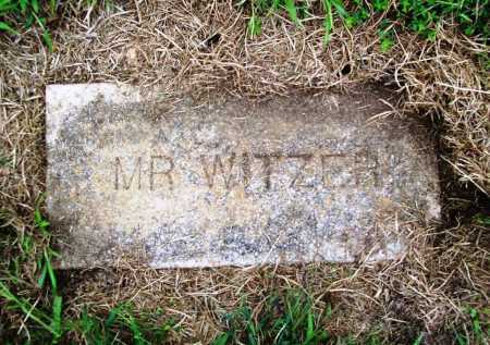 WITZER, MR. - Benton County, Arkansas | MR. WITZER - Arkansas Gravestone Photos