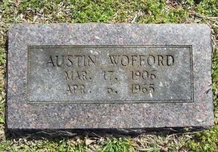 WOFFORD, AUSTIN - Benton County, Arkansas | AUSTIN WOFFORD - Arkansas Gravestone Photos