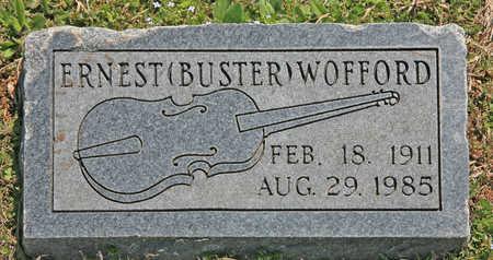 "WOFFORD (2), ERNEST N ""BUSTER"" - Benton County, Arkansas | ERNEST N ""BUSTER"" WOFFORD (2) - Arkansas Gravestone Photos"