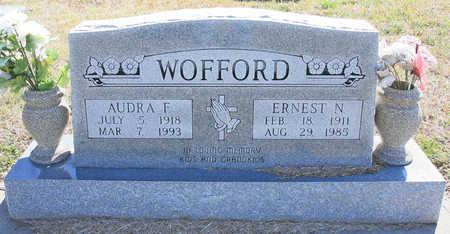 WOFFORD, AUDRA F. - Benton County, Arkansas | AUDRA F. WOFFORD - Arkansas Gravestone Photos