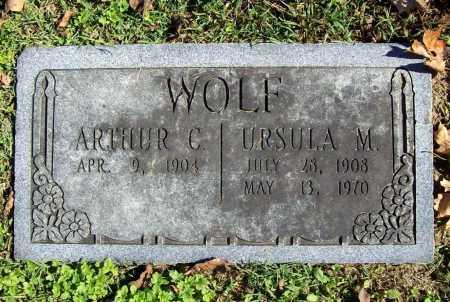 WOLF, URSULA M. - Benton County, Arkansas | URSULA M. WOLF - Arkansas Gravestone Photos