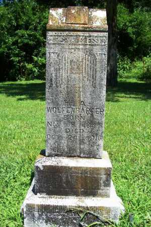 WOLFENBARGER, H. A. - Benton County, Arkansas | H. A. WOLFENBARGER - Arkansas Gravestone Photos