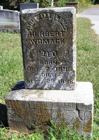 WOMACK, HERBERT - Benton County, Arkansas | HERBERT WOMACK - Arkansas Gravestone Photos