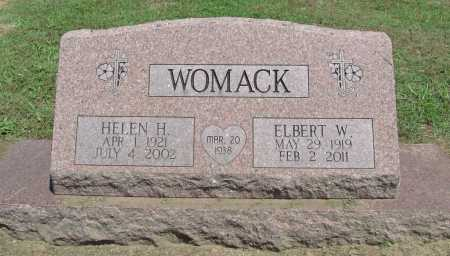 WOMACK, HELEN H. - Benton County, Arkansas | HELEN H. WOMACK - Arkansas Gravestone Photos