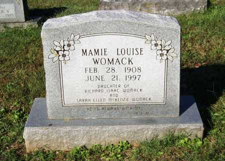 WOMACK, MAMIE LOUISE - Benton County, Arkansas | MAMIE LOUISE WOMACK - Arkansas Gravestone Photos
