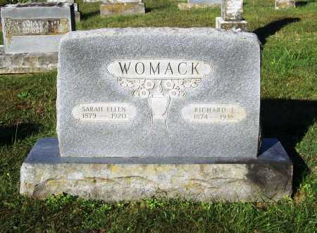 MCKENZIE WOMACK, SARAH ELLEN - Benton County, Arkansas | SARAH ELLEN MCKENZIE WOMACK - Arkansas Gravestone Photos