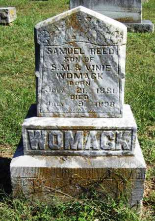 WOMACK, SAMUEL REED - Benton County, Arkansas | SAMUEL REED WOMACK - Arkansas Gravestone Photos