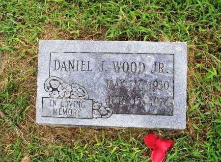 WOOD, DANIEL JONES, JR. - Benton County, Arkansas | DANIEL JONES, JR. WOOD - Arkansas Gravestone Photos