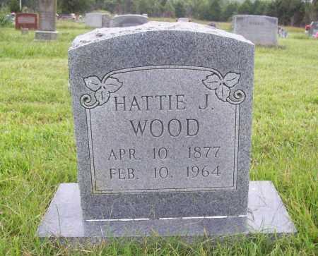 WOOD, HATTIE J. - Benton County, Arkansas | HATTIE J. WOOD - Arkansas Gravestone Photos