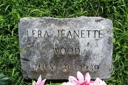 WOOD, LERA JEANETTE - Benton County, Arkansas | LERA JEANETTE WOOD - Arkansas Gravestone Photos