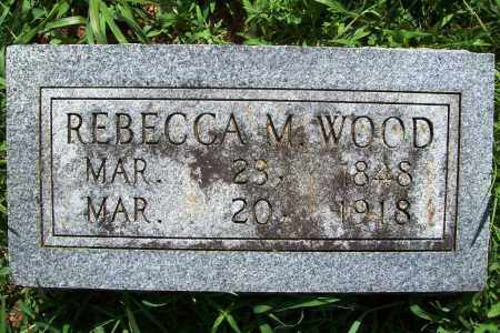 WOOD, REBECCA M. - Benton County, Arkansas | REBECCA M. WOOD - Arkansas Gravestone Photos