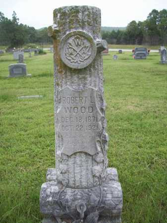 WOOD, ROBERT L. - Benton County, Arkansas | ROBERT L. WOOD - Arkansas Gravestone Photos