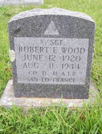 WOOD (VETERAN WWII), ROBERT E. - Benton County, Arkansas | ROBERT E. WOOD (VETERAN WWII) - Arkansas Gravestone Photos