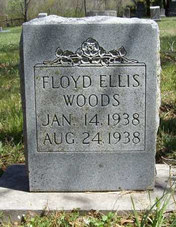 WOODS, FLOYD ELLIS - Benton County, Arkansas | FLOYD ELLIS WOODS - Arkansas Gravestone Photos
