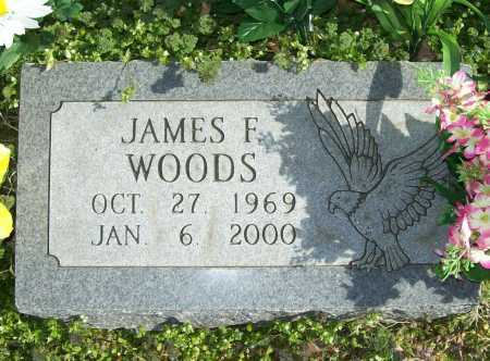 WOODS, JAMES F. - Benton County, Arkansas | JAMES F. WOODS - Arkansas Gravestone Photos
