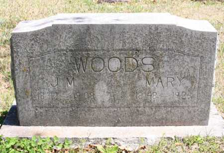 WOODS, MARY - Benton County, Arkansas | MARY WOODS - Arkansas Gravestone Photos