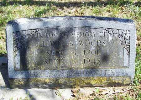 WOODS, LLOYD B. - Benton County, Arkansas   LLOYD B. WOODS - Arkansas Gravestone Photos
