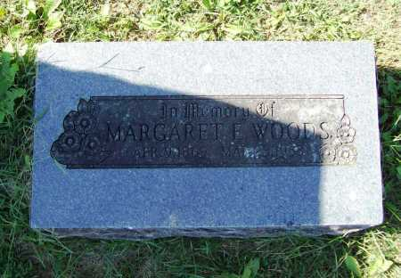 WOODS, MARGARET E. - Benton County, Arkansas | MARGARET E. WOODS - Arkansas Gravestone Photos