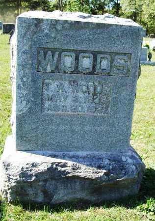 WOODS (VETERAN CSA), THOMAS ALLEN - Benton County, Arkansas   THOMAS ALLEN WOODS (VETERAN CSA) - Arkansas Gravestone Photos