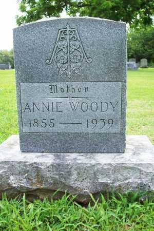 WOODY, ANNIE - Benton County, Arkansas | ANNIE WOODY - Arkansas Gravestone Photos