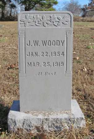 WOODY, JAMES W. - Benton County, Arkansas | JAMES W. WOODY - Arkansas Gravestone Photos