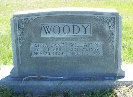 WOODY, WILLIAM M. - Benton County, Arkansas | WILLIAM M. WOODY - Arkansas Gravestone Photos