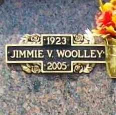 WOOLLEY (VETERAN WWII), JIMMIE V - Benton County, Arkansas | JIMMIE V WOOLLEY (VETERAN WWII) - Arkansas Gravestone Photos