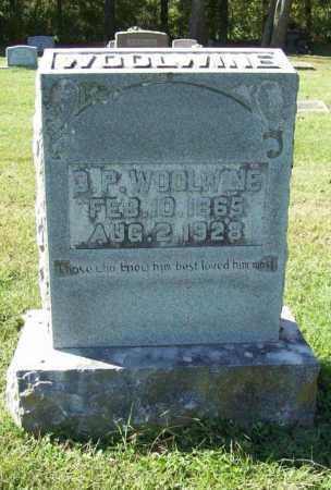 WOOLWINE, D. P. - Benton County, Arkansas | D. P. WOOLWINE - Arkansas Gravestone Photos