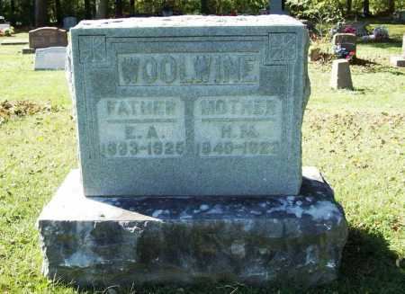 WOOLWINE, H. M. - Benton County, Arkansas | H. M. WOOLWINE - Arkansas Gravestone Photos