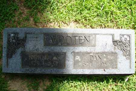 WOOTEN, DAN - Benton County, Arkansas | DAN WOOTEN - Arkansas Gravestone Photos