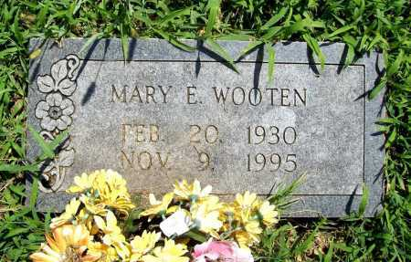 WOOTEN, MARY E. - Benton County, Arkansas | MARY E. WOOTEN - Arkansas Gravestone Photos
