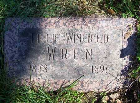 WINFIELD WREN, LILLIE - Benton County, Arkansas | LILLIE WINFIELD WREN - Arkansas Gravestone Photos