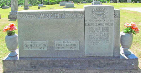 WRIGHT, CHARLES ELWOOD - Benton County, Arkansas | CHARLES ELWOOD WRIGHT - Arkansas Gravestone Photos