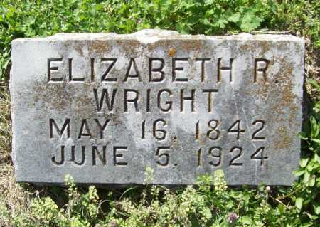 MCDONALD WRIGHT, ELIZABETH R - Benton County, Arkansas | ELIZABETH R MCDONALD WRIGHT - Arkansas Gravestone Photos