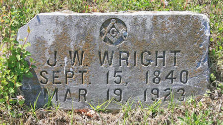 WRIGHT, J W - Benton County, Arkansas | J W WRIGHT - Arkansas Gravestone Photos