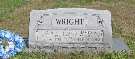 WRIGHT, JAMES S. - Benton County, Arkansas | JAMES S. WRIGHT - Arkansas Gravestone Photos