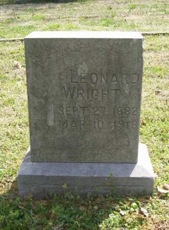 WRIGHT, LEONARD - Benton County, Arkansas | LEONARD WRIGHT - Arkansas Gravestone Photos